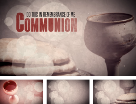 Communion Bread - This is My Body - Title Graphics