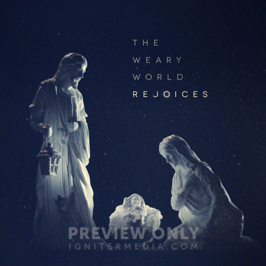 A Weary World Rejoices Print