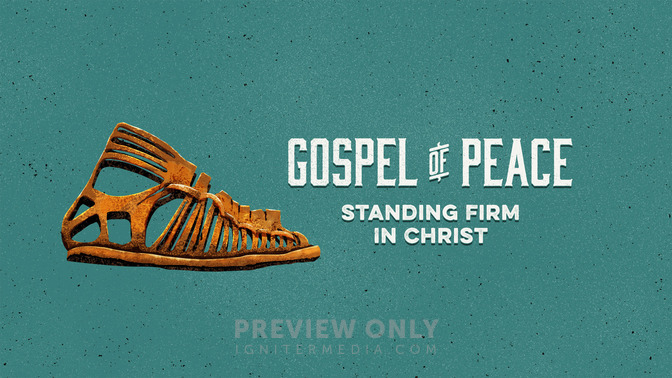 Full Armor of God - Gospel of Peace - Title Graphics